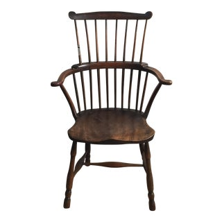 English Comb Back Windsor Chair