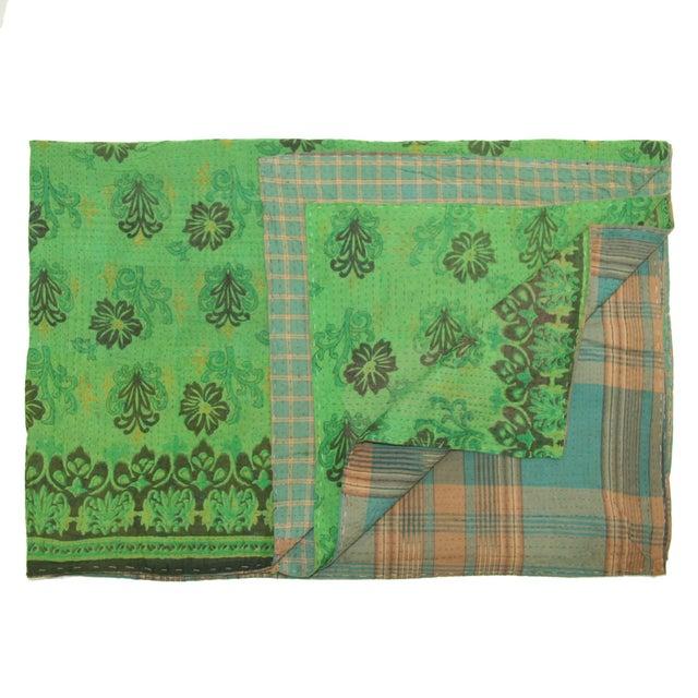 Vintage Kantha Quilt - Image 1 of 2