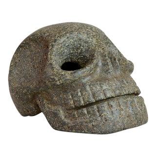 Green Stone Skull