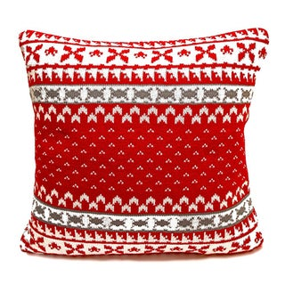 Knitted Winter Collection Decorative Pillow