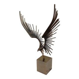 Bird in Flight Sculpture by Curtis Jere