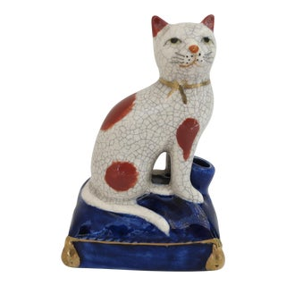 Fitz & Floyd Cat Desk Figurine