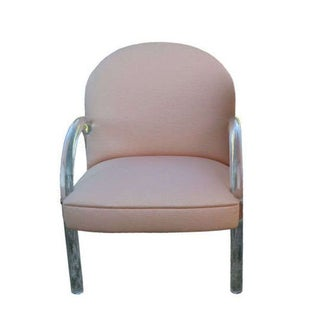 70s Style Lucite Chair