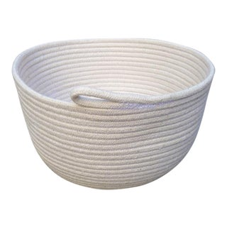 Medium Cotton Rope Bowl - Plain