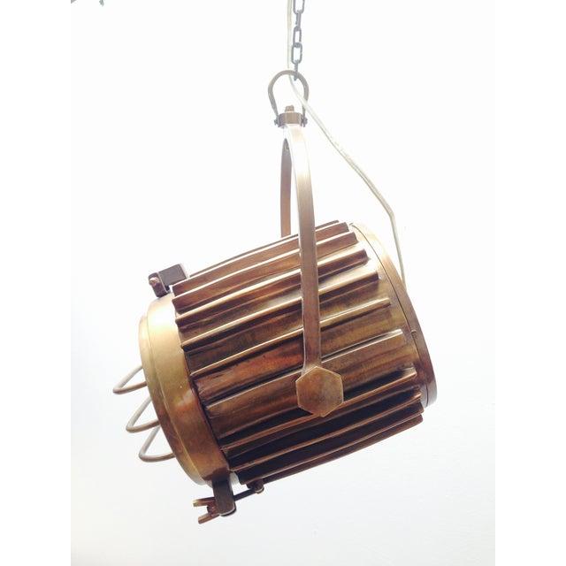 Bronze Industrial/Nautical Hanging Pendants - Image 4 of 11
