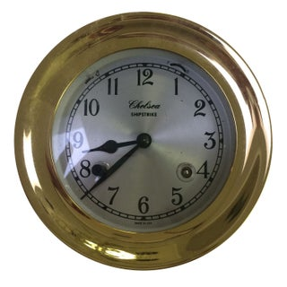 Brass Ship Clock