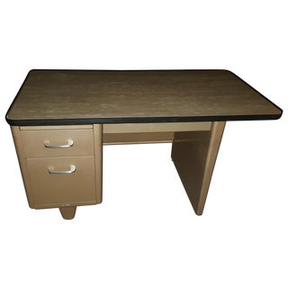 Vintage Steel Tanker Desk