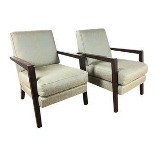 Thayer Coggin Modern Armchairs - A Pair