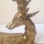 Image of Vintage Brass Stag Box