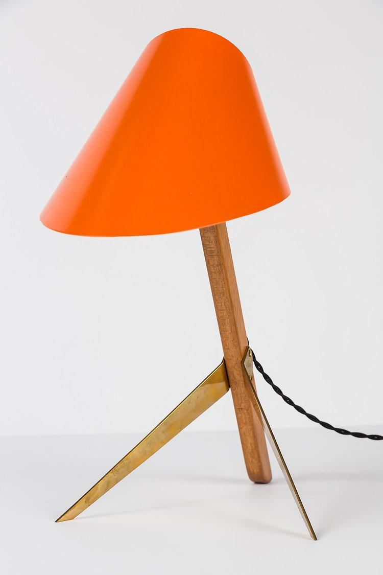 1950s Kalmar Vienna U0027Billyu0027 Tripod Table Lamp   Image ...