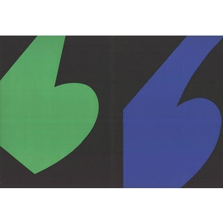 Ellsworth Kelly-Derriere le Miroir no.110 page-1958 Lithograph