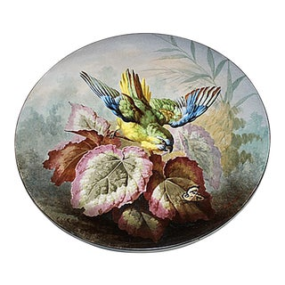 Lemonnier French Painted Porcelain Plaque
