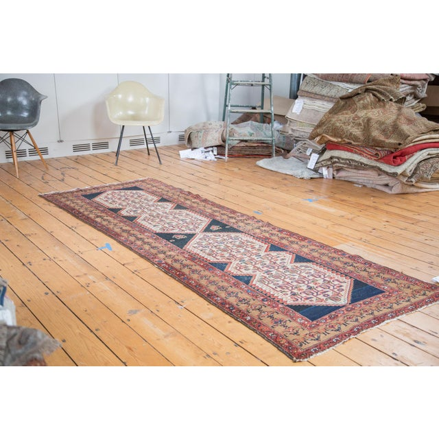 """Distressed Malayer Runner - 3'4"""" X 9'2"""" - Image 2 of 10"""
