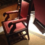 Image of Red Traditional Chair