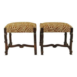 19th C. French Benches - A Pair