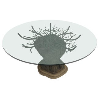 Brutalist Tree Center Table