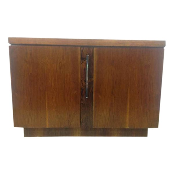 Image of Mid-Century Lane Walnut Side Table