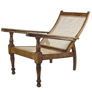 Vintage Anglo-Indian Plantation Chair