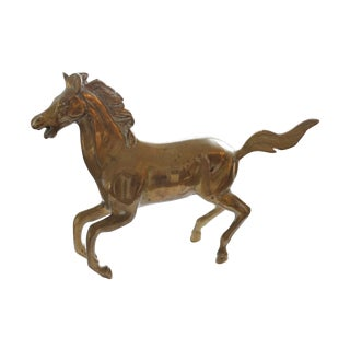 Brass Horse Galloping