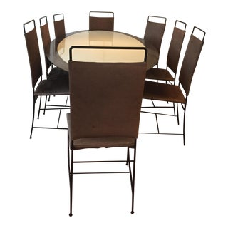 Vica by Annabelle Selldorf Dining Table & Chairs