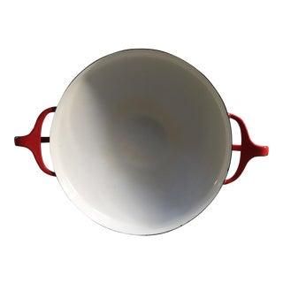 Jens Quistgaard Vintage Dansk Kobenstyle Small Red Paella Pan