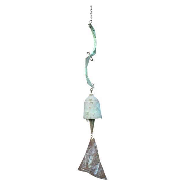 Paolo Soleri Bronze & Copper Fin Wind Bell - Image 1 of 11