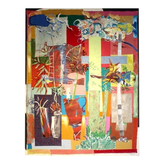Jacques Lamy Multi-Media Abstract Painting