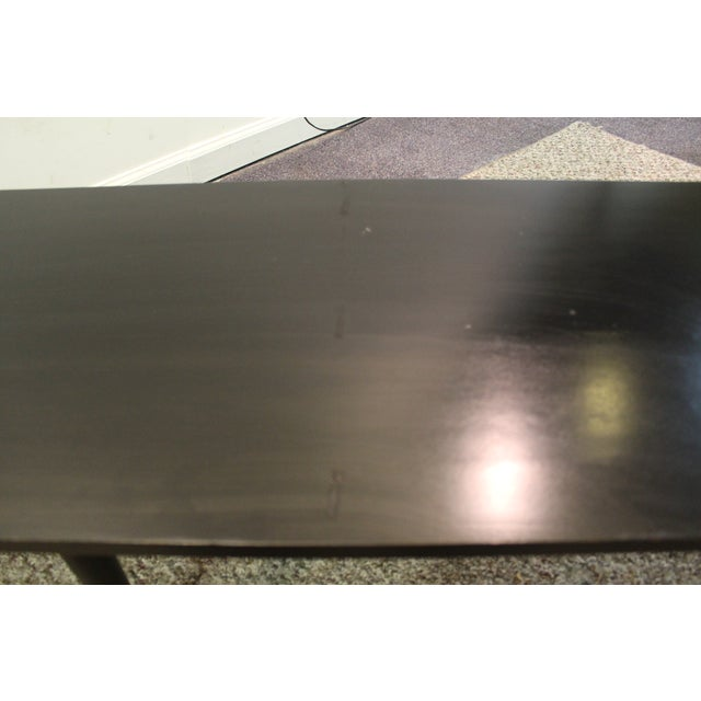 Mid Century Modern Ebonized Coffee Tables - Pair - Image 11 of 11