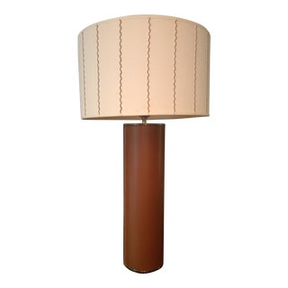 Thomas O'Brien Leather Table Lamp