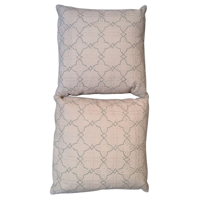 """Image of """"Country Cloth"""" Linen Throw Pillows - A Pair"""