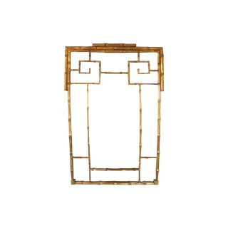 Faux Bamboo Mirror by Carvers Guild