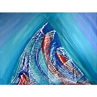Mountainous Wave Painting