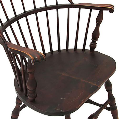 Antique Heywood Wakefield Windsor Chair   Image 4 Of 5