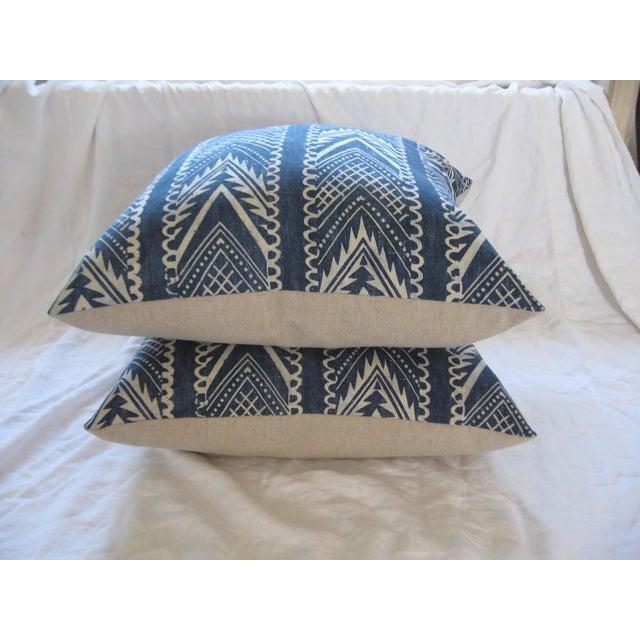 Custom Hand-Spun Linen Pillows - A Pair - Image 8 of 8