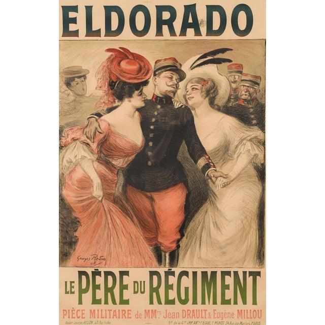 Eldorado Original 1905 Vintage French Poster- by Georges Redon -Framed - Image 3 of 10