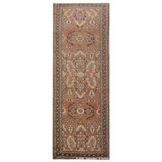 """Vintage Persian Hamedan Runner Rug - 3'1"""" x 13'6"""""""