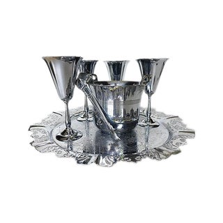 Chrome Bar Service - Set of 7