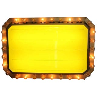 1950s Carnival Light Up Marquee