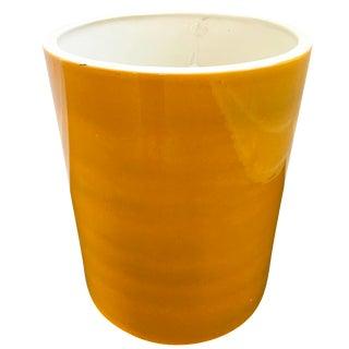 Vintage Yellow Gainey Pot
