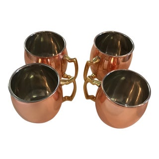Mini Copper Moscow Mule Mugs - Set of 4