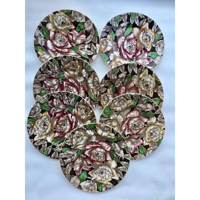 Myott England Dessert Plates - Set of 7 - Image 2 of 5