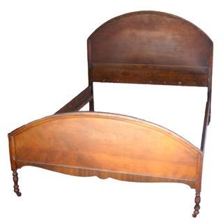 Antique Walnut Bed Frame