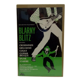 'Blarny Blitz: St. Patrick's Day' Concert Series Poster
