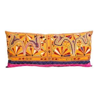 Lumbar Indian Rabari Pillow