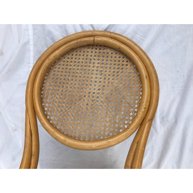 Sheet Cane Bentwood Bistro Chairs - Set of 4 - Image 7 of 10
