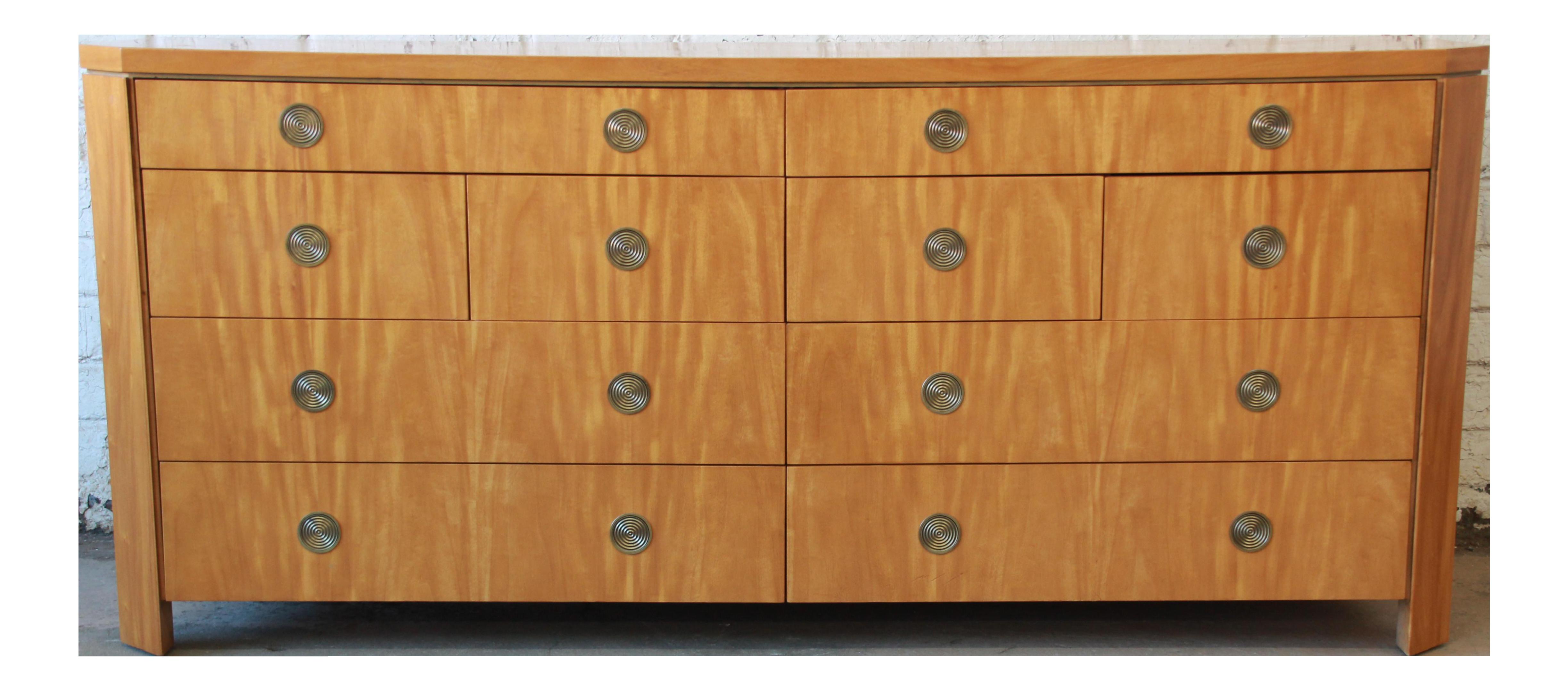 Charles Pfister For Baker Primavera Ten Drawer Long Dresser