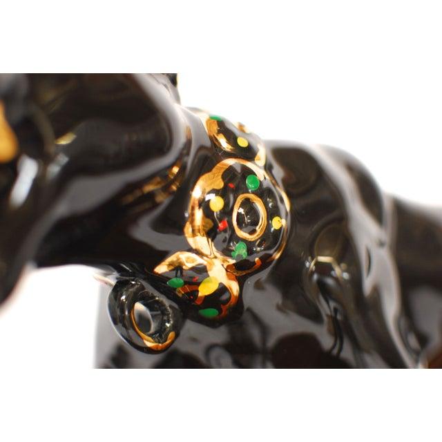 Image of Vintage Art Deco Black Panther