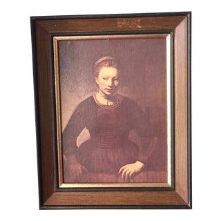 Dutch Renaissance Painting of Girl