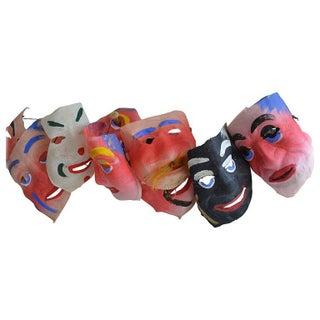 1950's Vintage Masks - Set of 12