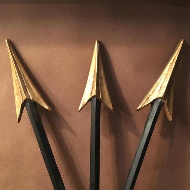 Neoclassical Arrow Sconces - A Pair - Image 5 of 8